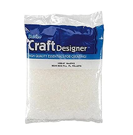 Wondrous Darice Bean Bag Filler Plastic Pellets 8 Ounces Creativecarmelina Interior Chair Design Creativecarmelinacom