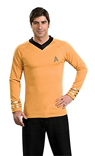 [Deluxe Classic Shirt Costume - Medium - Chest Size 42] (Star Trek Uniform Shirts)