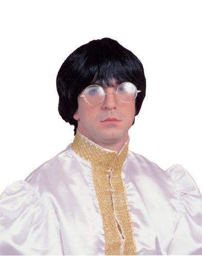 60's Mod Costume (Forum Novelties Costume Culture 60's Mod Wig Deluxe, Black, One Size)