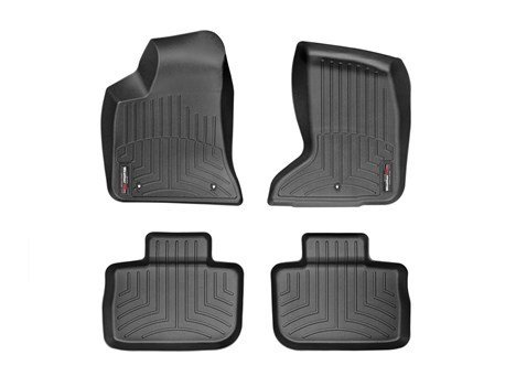 2011-2015 Dodge Charger-Weathertech Floor Liners-Full Set (Includes 1st and 2nd Row)-Fits AWD Models Only-Black