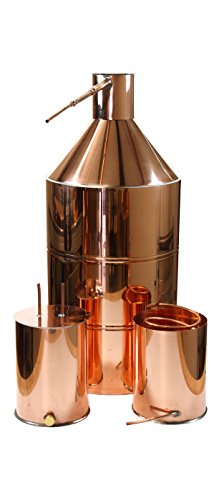 Galleon - 30 Gallon Copper Moonshine Still Kit With Worm & Thumper
