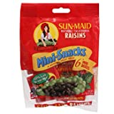 Sun Maid Raisins 6 Mini Boxes (4-Pack)