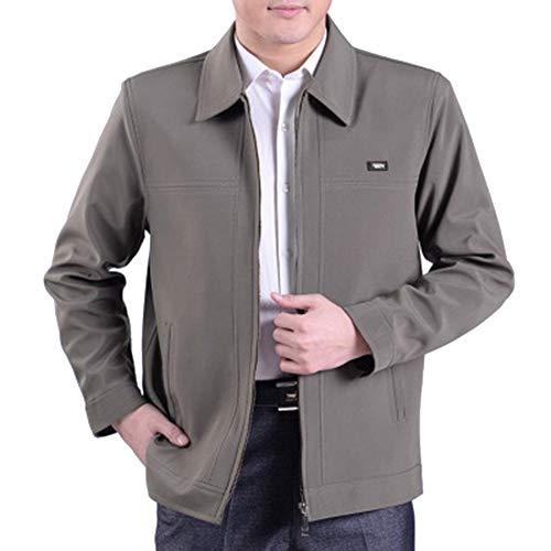 Jacket Men Jacket Coat Size 03 Autumn Winter Style and Lapel Men's BOZEVON Casual New Tops Large RAnwxqCAP