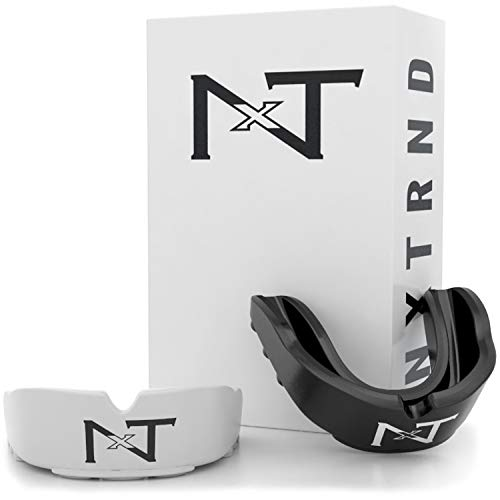 Nxtrnd Rush Mouth Guard Sports - 2 Pack of Professional Mouthguards for Boxing, Football, MMA, and More