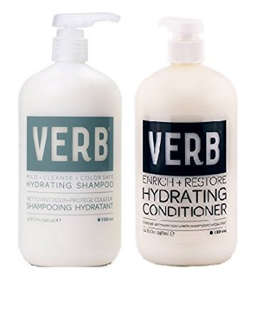 Verb Hydrating Shampoo and Conditioner Duo (32 oz each) by verb