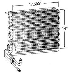 AL70298 Vapor Condenser for John Deere 2250 2355 2