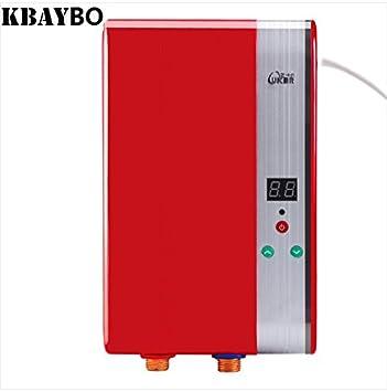 Secure expendedora Suecia 6000W eléctrica Ducha sin tanque calentador de agua eléctrico inmediato del calentador instantáneo