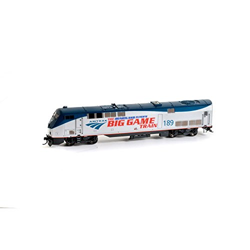Athearn ATH88750 HO RTR AMD103/P42,Amtrak/PhaseV Big Game Train#189 by Athearn