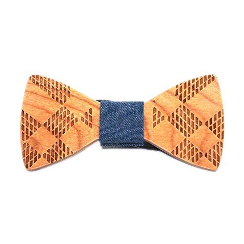Hello Tie Handmade Creative Wooden product image