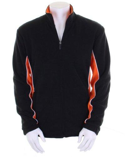 Gamegear Gamegear microfleece track jacket Black/Orange/White XL Big Game Microfleece Jacket