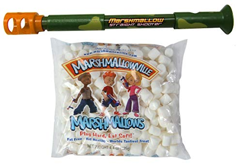 Camo Straight Shooter with 1 Bag of Marshmallows]()