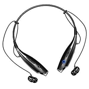 Wireless Bluetooth Headset (Black)