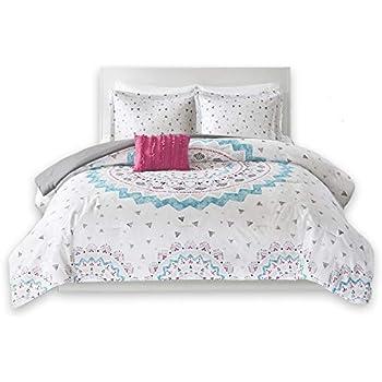 Amazon Com Comfort Spaces Ari Comforter Set 4 Piece
