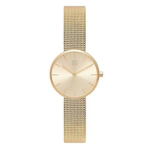 Byron Bond Mark 2 – Women s Watch – Elegant Waterproof Minimalist Ladies Stainless Steel Watch – Luxury Wristwatch