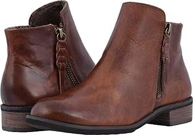 Walking Cradles Women's Kason Chestnut Rustic Leather 10 D US W (D)