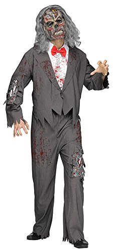 Zombie Groom Costume Adult Men Standard