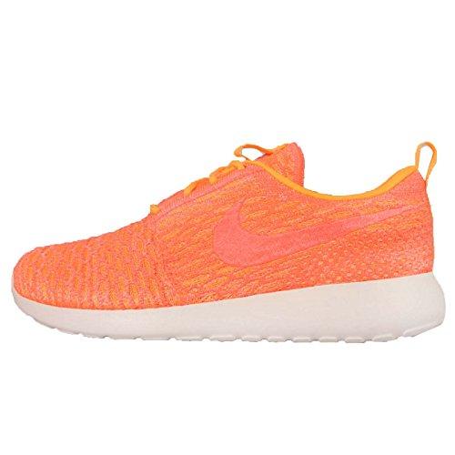 Nike Roshe Flyknit Damen Laufschuhe Orange