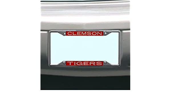 NCAA Clemson Tigers License Plate Frame Wincraft 84969