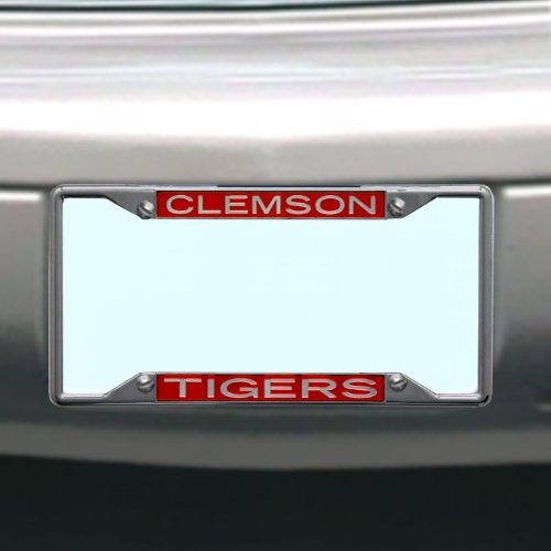 NCAA Clemson Tigers License Plate Frame ()