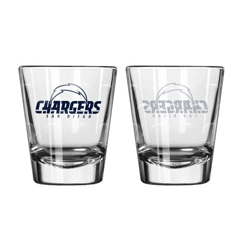 - Boelter Brands NFL San Diego Chargers 174803 Shot Glass, Team Color, One Size