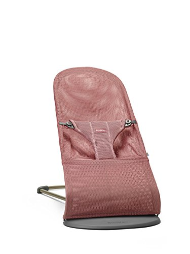 BABYBJORN Bouncer Bliss in Mesh, Vintage Rose