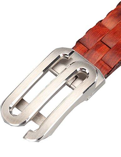 Menschwear Mens & Womens Adjustable Palisander Wooden Belt Handmade 120CM by Menschwear (Image #5)