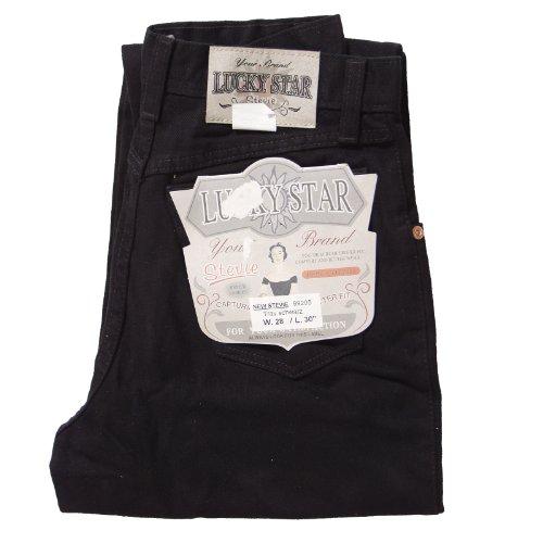 "Lucky Star ""New Stevie Tapered Jeans (gemäßigte zanahoria) en muchos colores–Nuevo con Etiquetas negro"