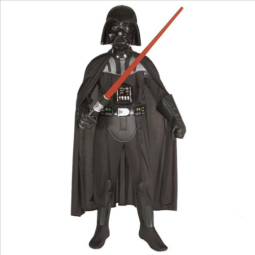 [Star Wars Classic Deluxe Darth Vader Child Costume Size: Large (10-12)] (Classic Halloween Costumes 2016)
