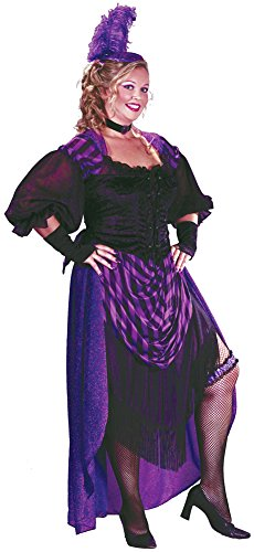 Lady Maverick Plus Costumes (Adult-Costume Lady Maverick Plus Sz Halloween Costume - Adult Plus)
