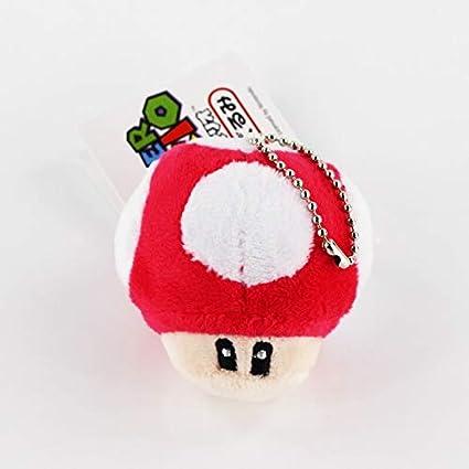 6 CM 1 Unidades Super Mario Bros Llavero de Juguete de ...
