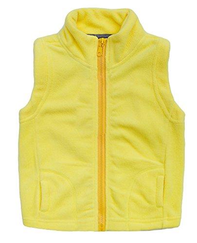Aivtalk Boys Zip Up Vest Stand Collar Warm