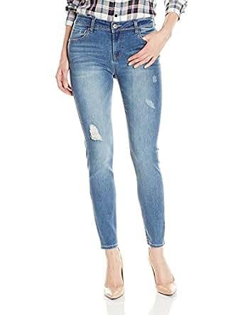 28 Inch Inseam Skinny Jean Ankle Biter, Cornelia, 24