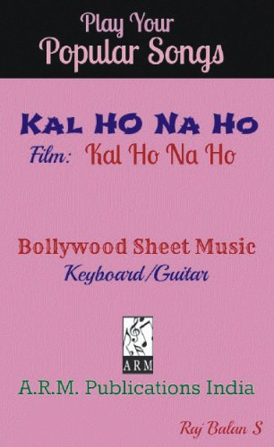 KAL HO NA HO sheet music - Kindle edition by RAJ BALAN S. Arts ...