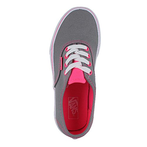 Fashionable Vans Sneakers Prints Stylish in for FROST Canvas Classic Authentic PINK Colors Unisex Kids GREY and Designs Ew7Hw
