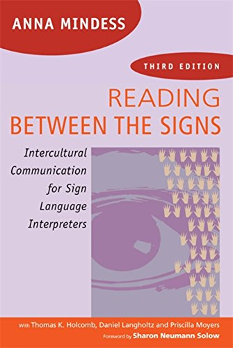 Download Reading Between the Signs: Intercultural Communication for Sign Language Interpreters Pdf