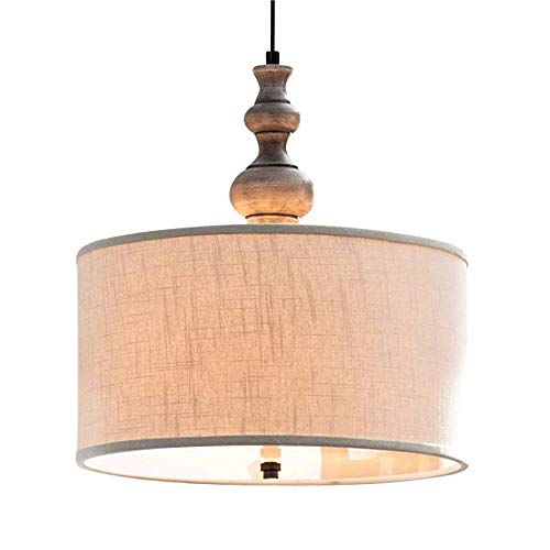 Colored Drum Pendant Lights in US - 7