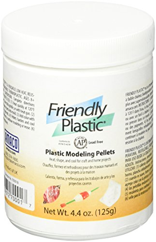 Clay Bead Amaco - AMACO 70001B Friendly Plastic Pellets, 4.4-Ounce