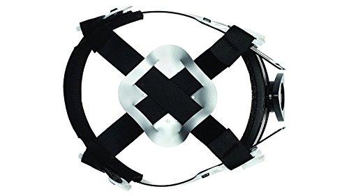 Full Brim Hard Hat, Adjustable Ratchet 4 Pt Suspension, Durable Protection safety helmet, Graphite Pattern Design, Black Matte, by Tuff America by Tuff America (Image #4)