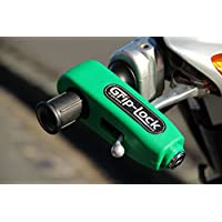 Grip-Lock Motorcycle and Scooter Security Lock - Green