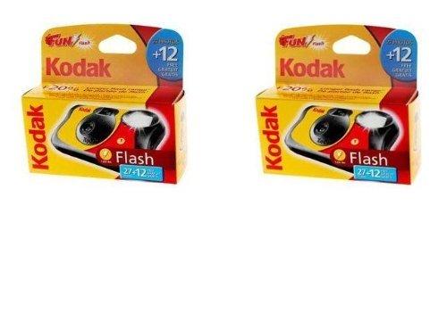 Kodak Fun Flash Disposable Camera - 39 Exposures Pack of 2 by KODAK
