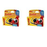 Kodak Fotocamera usa e getta con flash, 39scatti, confezione da 2