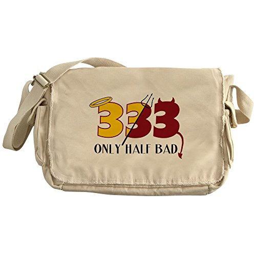 Royal Lion Khaki Messenger Bag 333 Only Half Bad Angel Halo (Halo Messenger Bag)