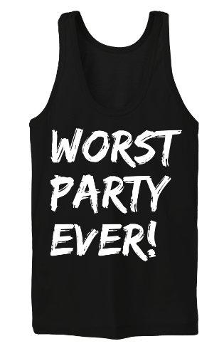 Worst Party Ever Tanktop Girls Noir
