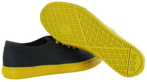 Ferro Pugno Mens Winston Sneaker Blu Marino