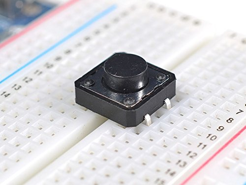 Adafruit Tactile Switch Buttons (12mm square, 6mm tall) x 10 pack