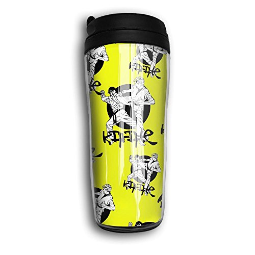 Jfdb Mugs Cool Karate Japanese Funny Vacuum Cold Sports Water Bottles Coffee Cup Travel Mugs Insulated Tumbler by Jfdb Mugs