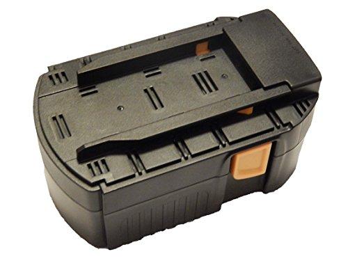 vhbw NiMH bateria 3000mAh (24V) para herramienta electrica powertools tools Hilti SFL 24, TE 2-A, UH 240-A, WSC 55-A24, WSC 6 5, WSR 65