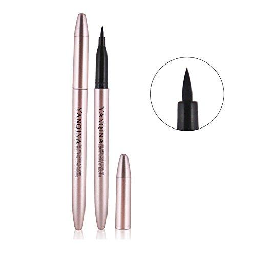 [Makeup Fashion Eyes Cosmetics Waterproof Long Lasting Pigment Black Eye Tattoo Eyeliner Pencil Makeup] (Kit Kat Halloween Costumes)