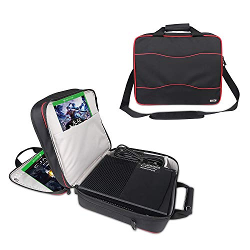 Universal Gaming Carrying Case,Travel Shoulder Bag for Xbox One/PS4 Pro/PS4/PS4 Slim/PS3/Xbox One...