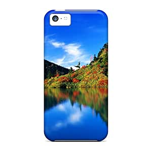 BrianJF Design High Quality Autumn Reflection Japan Cover Case With Excellent Style For Iphone 5c